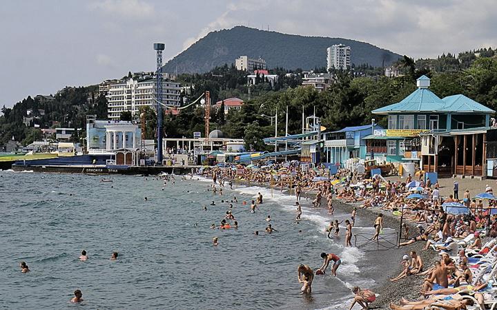 Так выглядит черноморский город сейчас... Фото: Андрей ИГЛОВ/РИА Новости