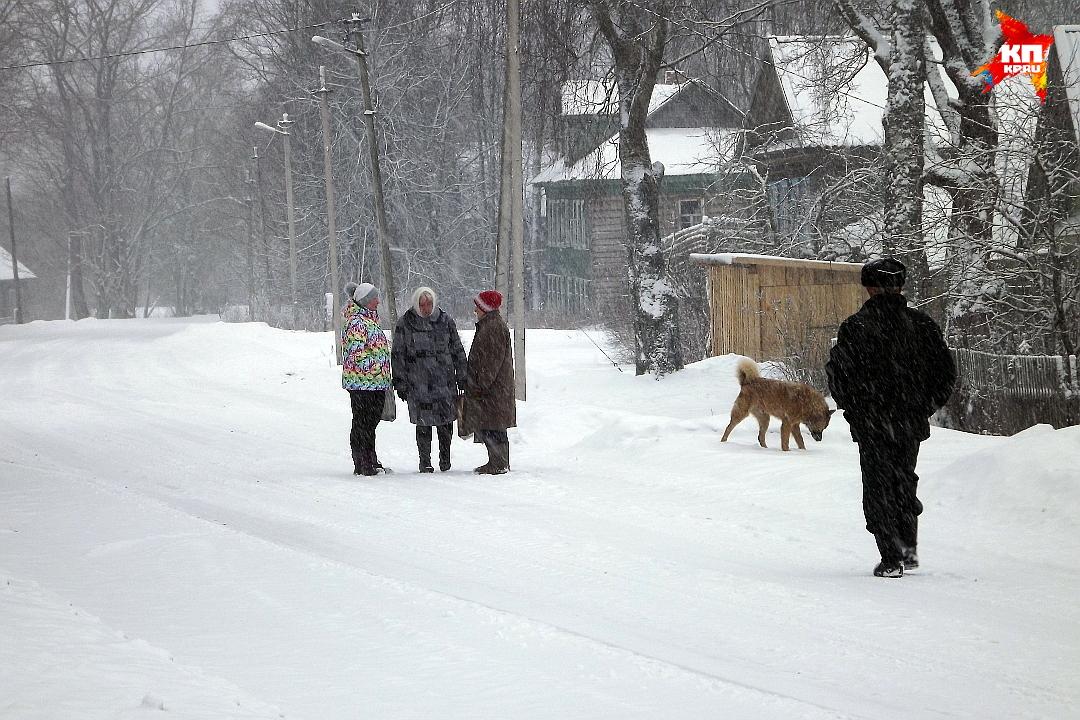 Не  смотря на непогоду, людей на улице достаточно. Фото: Василий ХОДАРЕВ