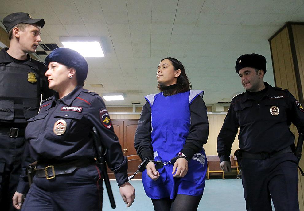 """После ареста няня призналась в содеянном и заявила, что совершить преступление ее """"заставили голоса"""" Фото: REUTERS"""