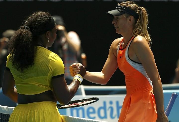 В полуфинале Открытого чемпионата Австралии Мария Шарапова уступила американке Серене Уильямс. Фото: REUTERS