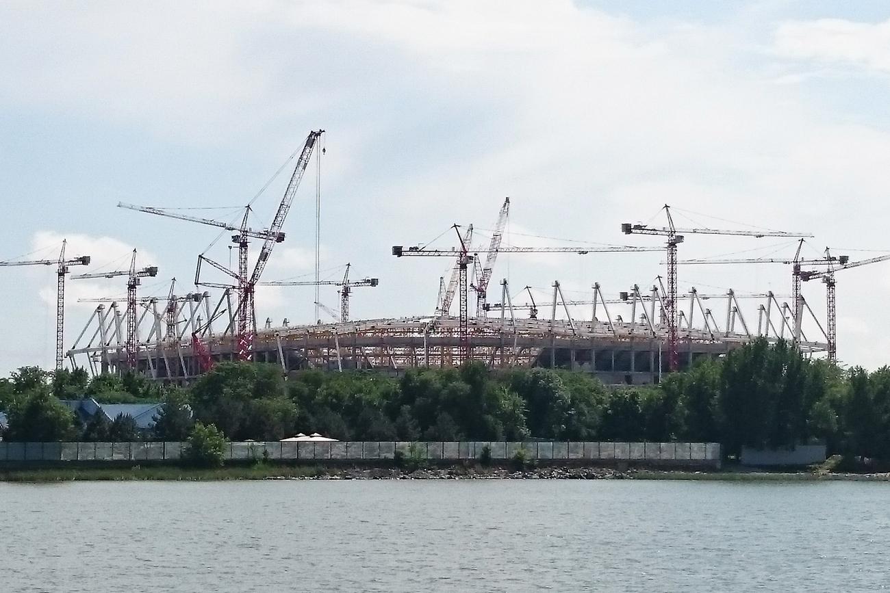 Темпы возведения 2-х гостиниц кЧМ-2018 вРостове недостаточные— Мутко