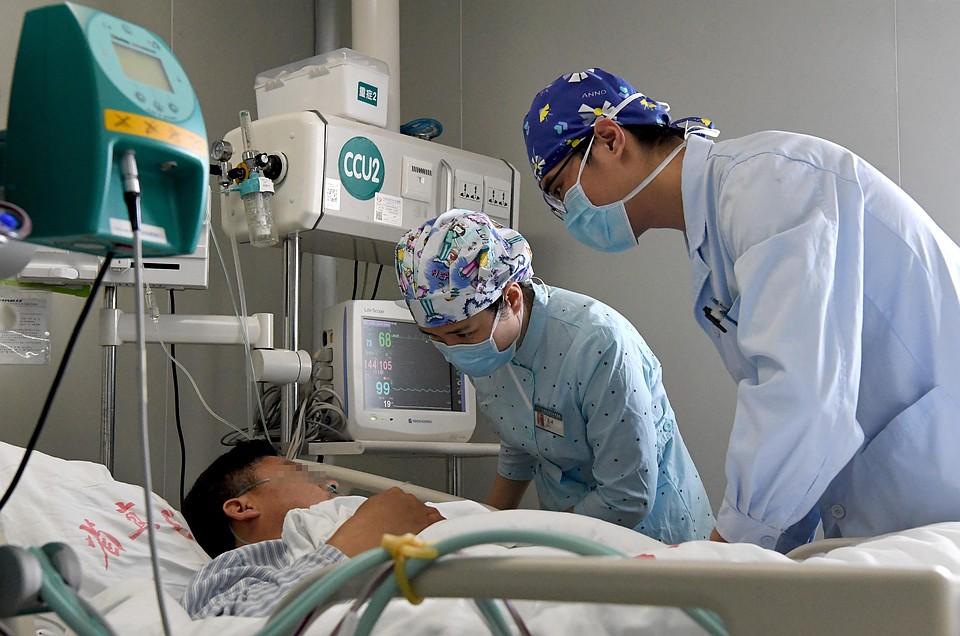 Китай первым принял на себя удар эпидемии коронавируса Фото: GLOBAL LOOK PRESS