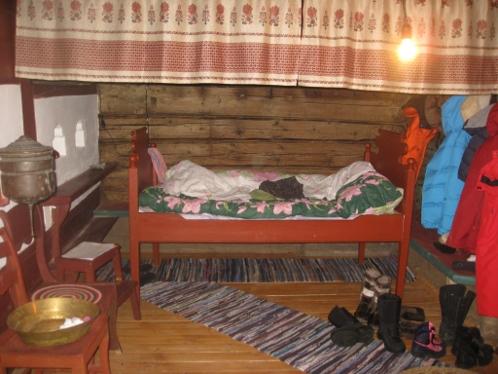 Опочивальня для австрийских гостей в Двойне Федора. Фото: Ольга КАШИНЦЕВА