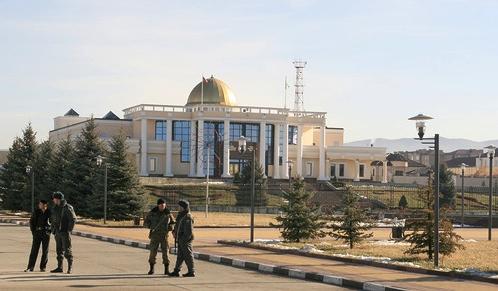 В столице Ингушетии городе Магасе первым построили комплекс зданий республиканского правительства.