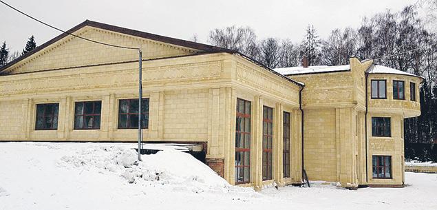 Зимний теннистый корт, построенный Шамхаловым рядом со «Сколково».