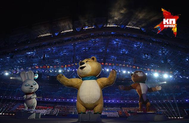 Эрнста спросили и об олимпийском Мишке Фото: РИА Новости