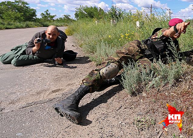 Уйти из поселка Восточный оказалось не так просто Фото: Александр КОЦ, Дмитрий СТЕШИН