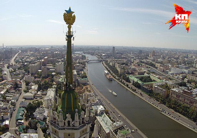 В ночь со вторника на среду испоганили памятник архитектуры в Москве Фото: Иван ВИСЛОВ