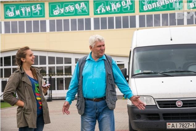 Управляющий комплексом - бывший глава Пружанского райисполкома - и Николай Бурнос дружат уже 30 лет. Фото: Игорь СИДОРУК