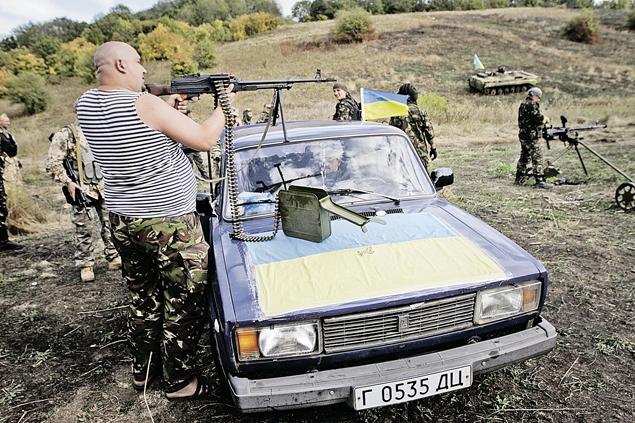 В батальон «Айдар» боевиков набирали без проверок на судимость, алкоголизм и наркоманию. Фото: ТАСС