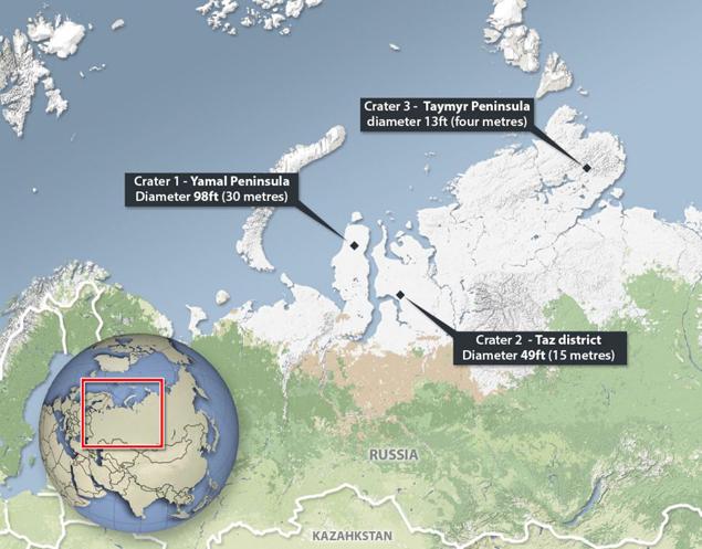 Карта Ямальского треугольника из британской газеты - интересуются...