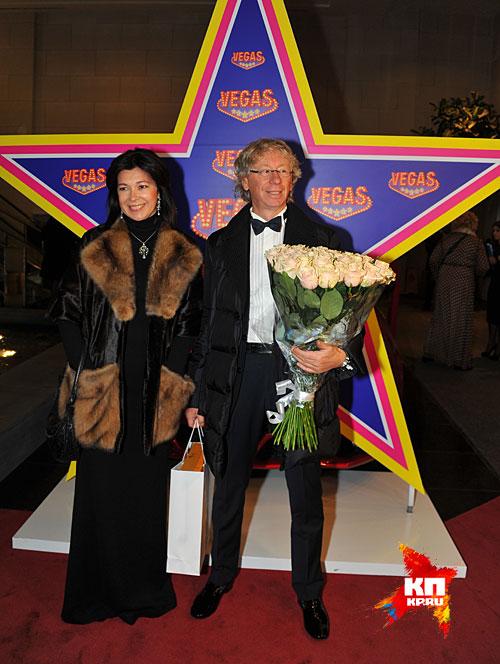 Аркадий Укупник с женой Фото: Евгения ГУСЕВА