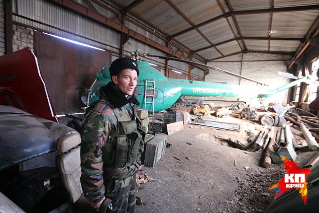 Вертолет атамана Козицына Фото: Александр КОЦ, Дмитрий СТЕШИН