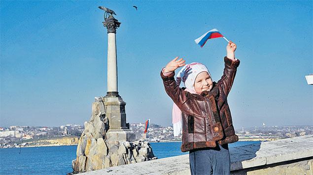 Крым вернулся домой и теперь должен стать процветающим регионом - тогда врагам будет нечего сказать. Фото: Евгения ГУСЕВА