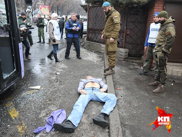 До 15 погибших на трамвайном кругу в Ленинском районе Фото: Александр КОЦ, Дмитрий СТЕШИН
