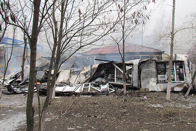 Последствия обстрела Мариуполя. Фото: РИА Новости
