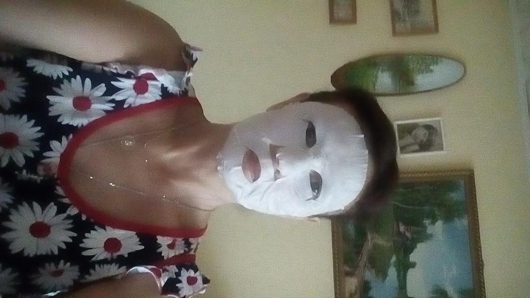 маска пленка увлажняющая
