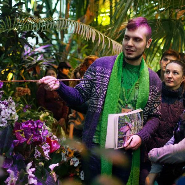 Фестиваль орхидей «Тропическая зима»