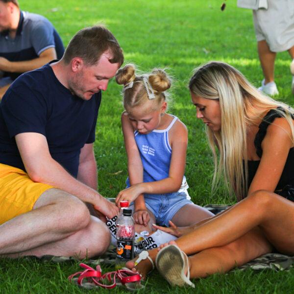 День семьи в Парке Горького