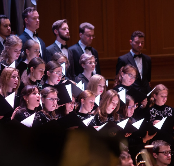 Открытие нового сезона Камерного хора Московской консерватории