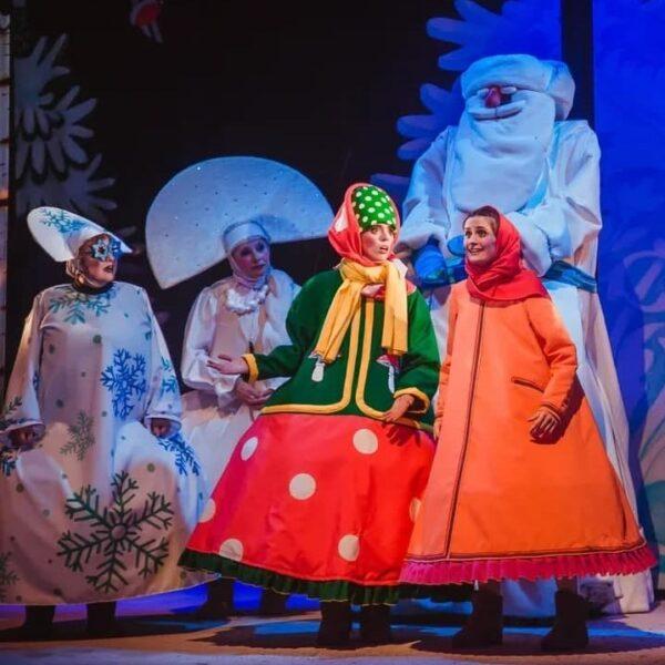 Спектакль «Морозко» в Губернском театре
