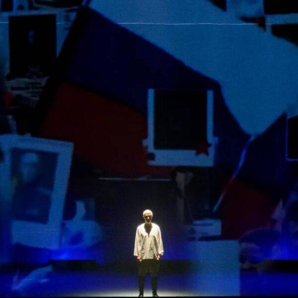 Спектакль «Бессмертные строки» в МХАТ Горького