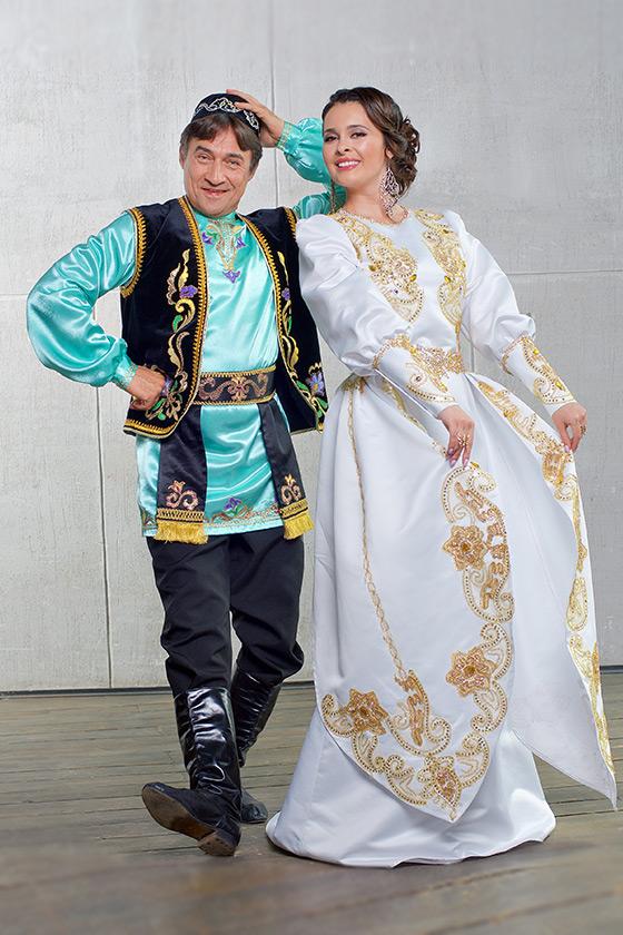 Татары национальный костюм фото мужской и женский частности заметили