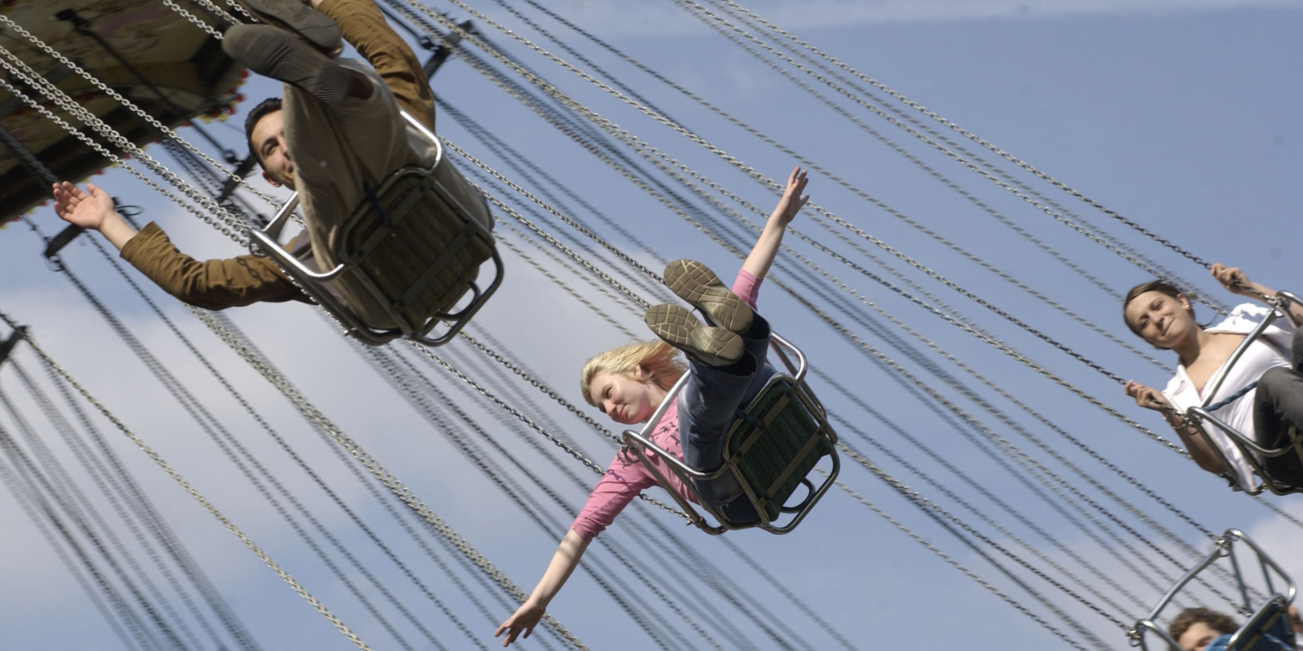 В парке аттракционов есть развлечения для детей и взрослыхФото: globallookpress.com