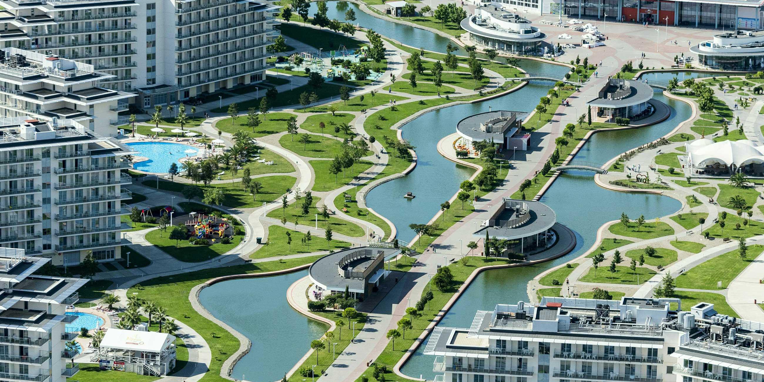 Рядом с Олимпийским парком выросли фешенебельные отели.Фото: globallookpress.com