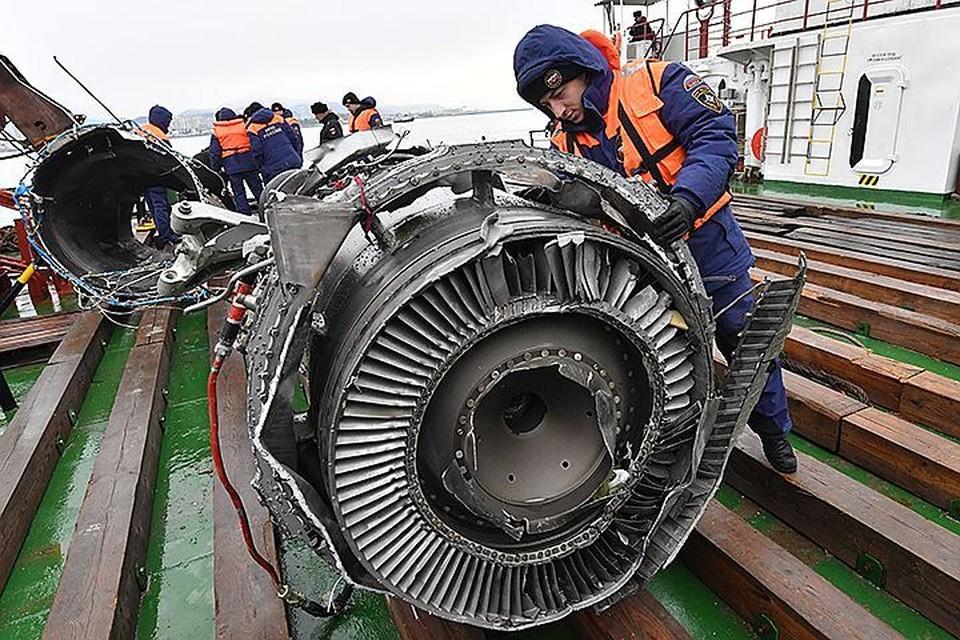 Причиной катастрофы Ту-154 под Сочи названы «странные действия» экипажа