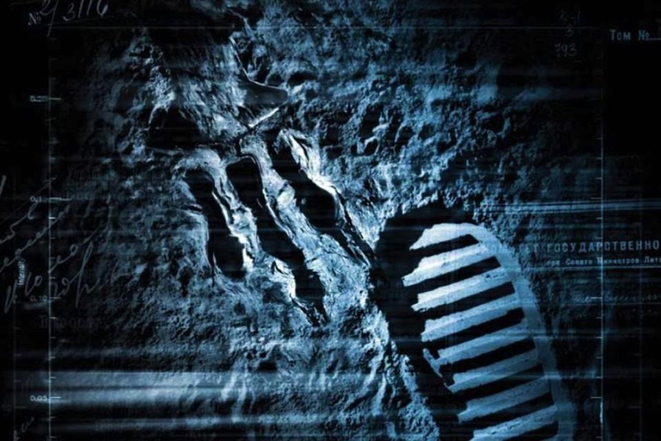 Следы, оставленные на Луне, сохраняются очень долго.