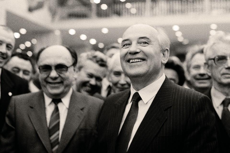 Александр Яковлев считался главным идеологом перестройки в команде Горбачева. Фото: Борис КАУФМАН/РИА Новости