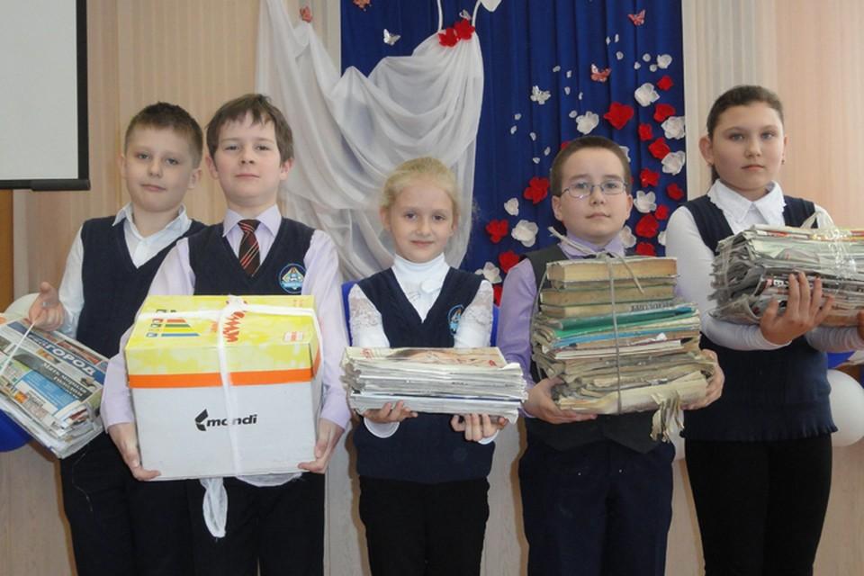 Ученики школы № 173 обменяют 760 кг макулатуры на новые книги