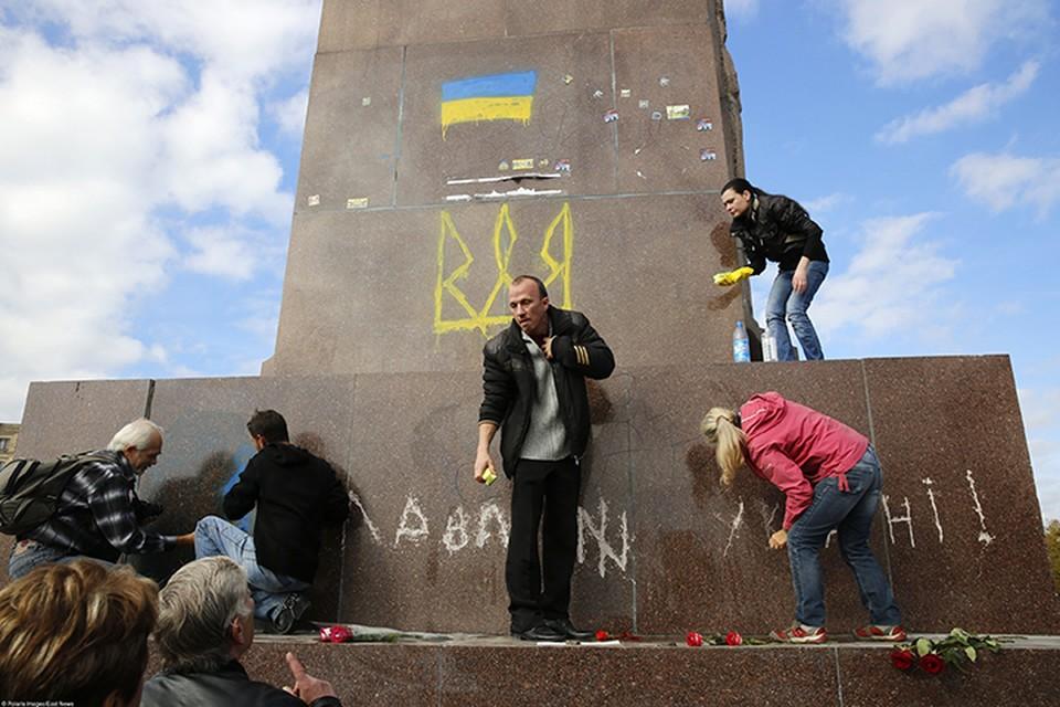 На Украине оказалось гораздо больше людей подверженных нехорошему национализму, чем можно было ожидать