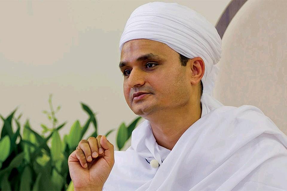 Индийский проповедник Шри Пракаш