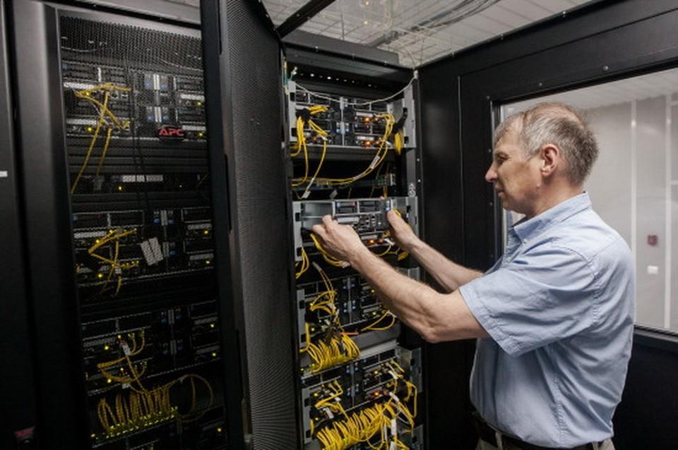 В новосибирском Академгородке запущен сверхсовременный вычислительный кластер. Фото: www.nso.ru