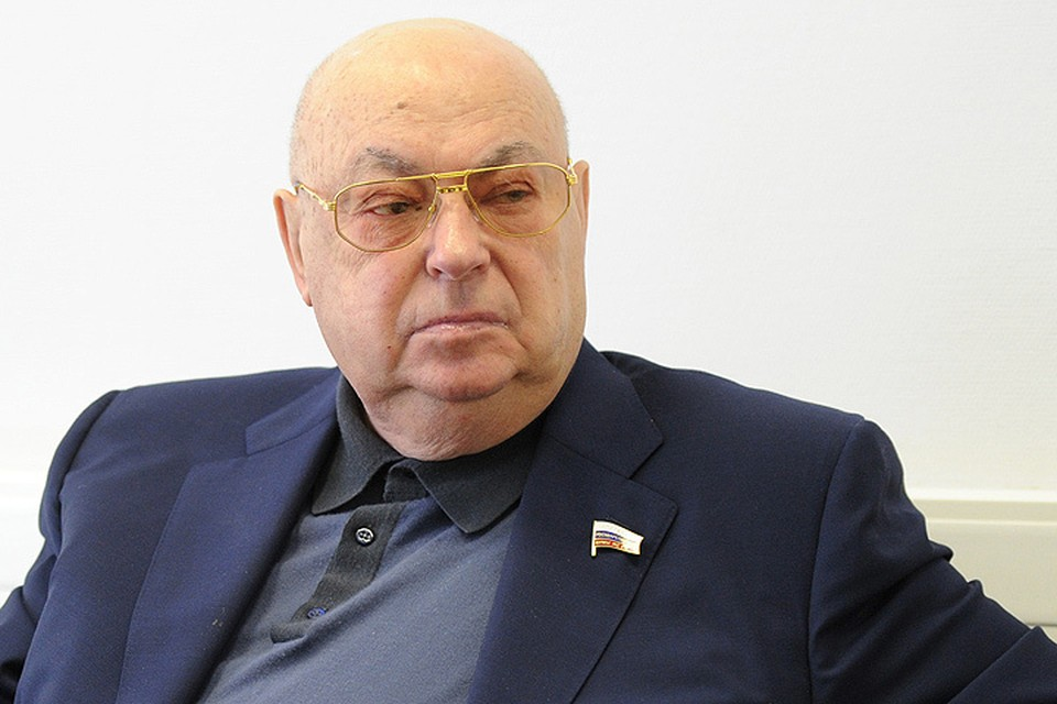 """Владимир Ресин в редакции """"КП""""."""
