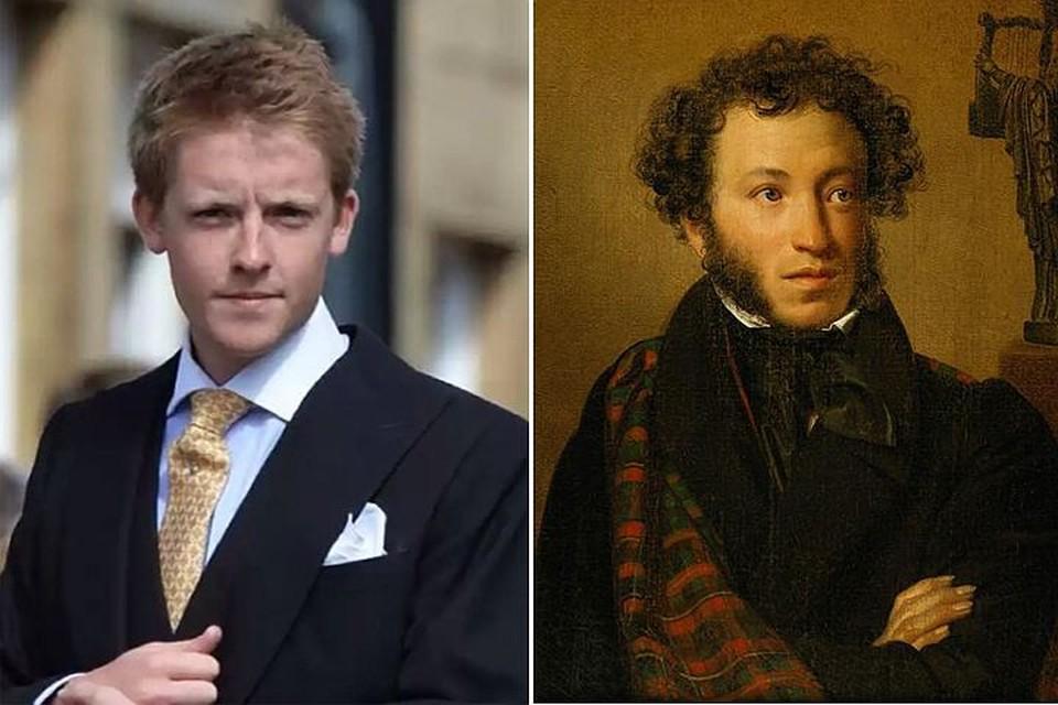 26-летний миллиардер Хью Гросвенор - потомок Александра Пушкина по материнской линии.