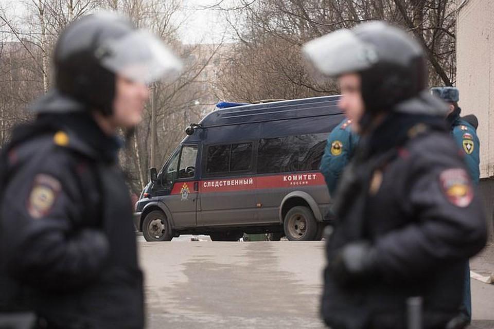 Оперативные службы на месте в день задержания 6 апреля