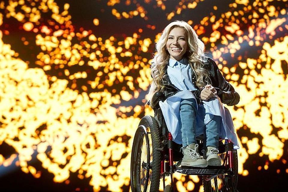 Сама Юлия Самойлова выступить на «Евровидении-2017» не смогла. Фото: Максим ЛИ / Первый канал