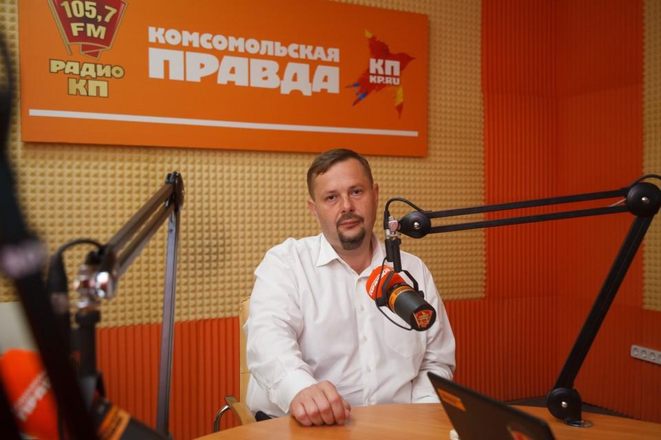 Директор троллейбусного предприятия Алексей Бушман