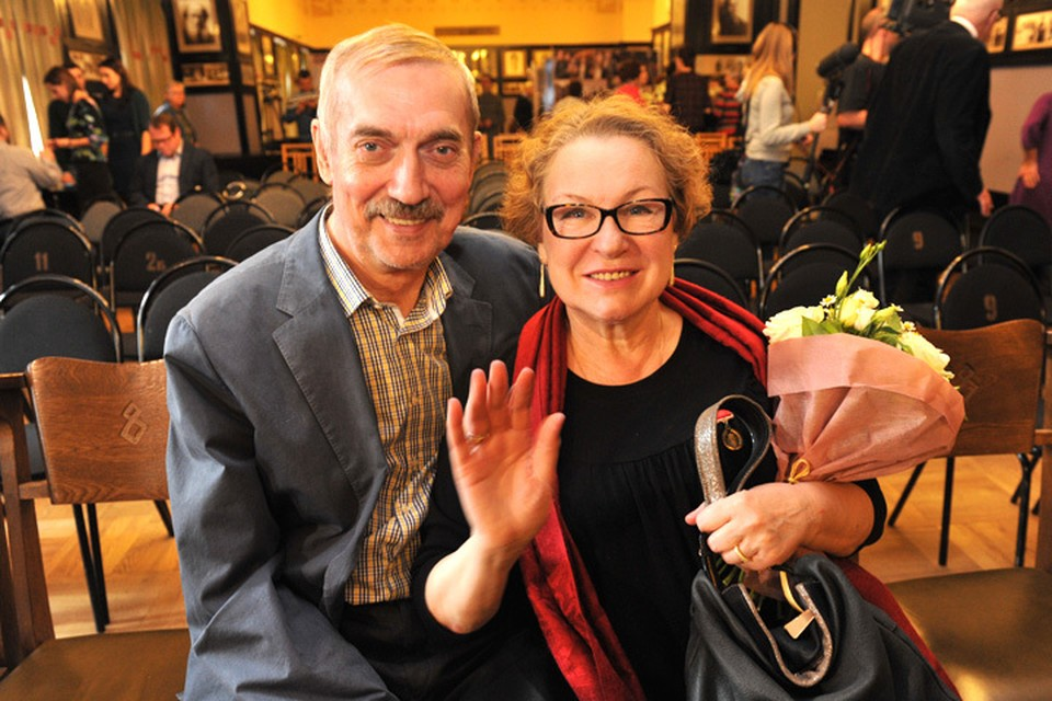 Актеры Евгений Киндинов со своей супругой Галиной