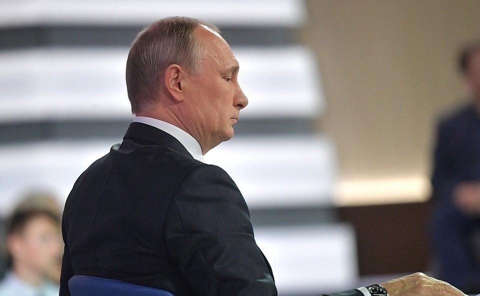 Владимир Путин ответил на вопрос парня из Челябинска Аркадия Бодрягина. Фото: kremlin.ru