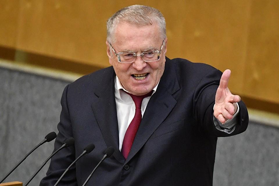 Пусть отсохнут руки и ноги у предателей, считает Владимир Жириновский