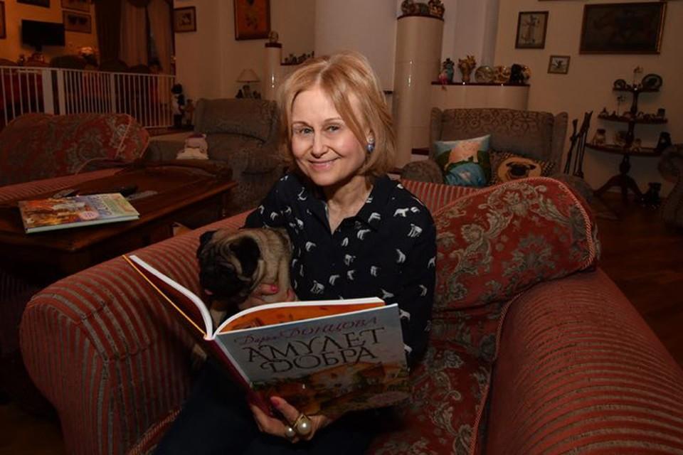 Известная писатель Дарья Донцова дала эксклюзивное интервью Радио «Комсомольская правда»
