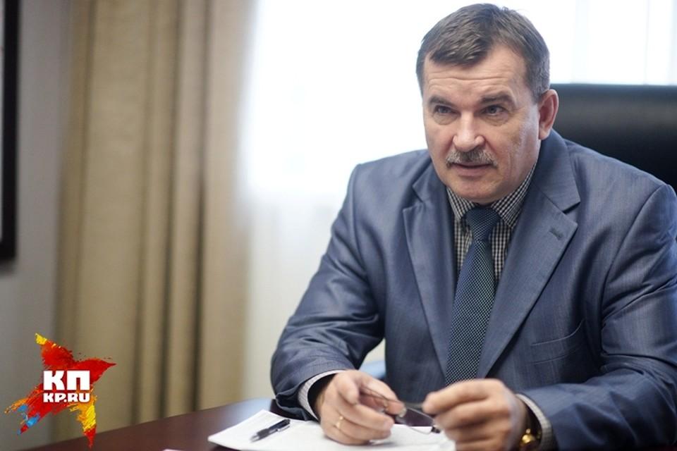 Главного следователя Свердловской области отстранили от должности