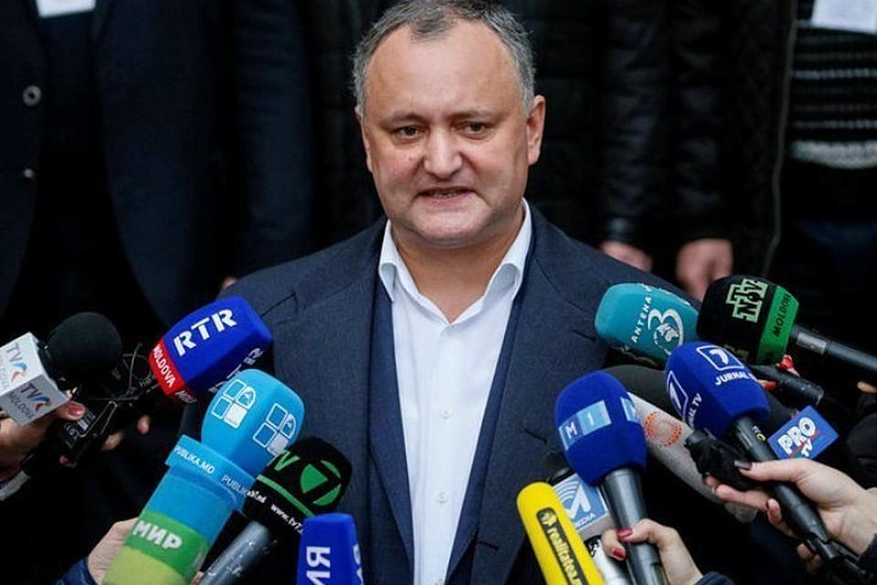 Президент Молдавии Игорь Додон намерен продолжать восстанавливать стратегическое партнерство с РФ, несмотря на трудности