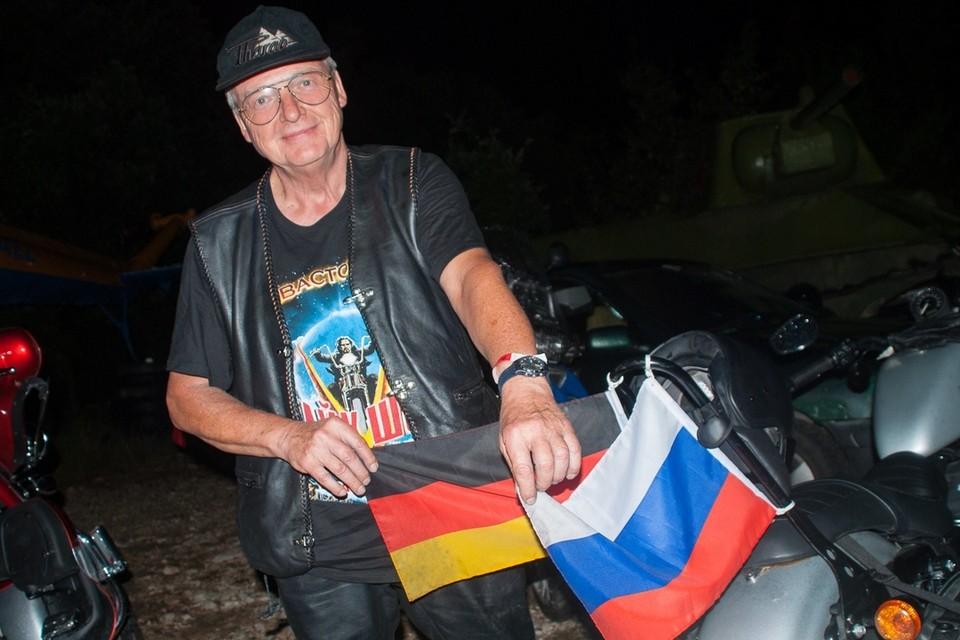 """Вилфред из Германии: """"Я не завишу от политики, я - свободный человек. И я очарован Крымом""""."""