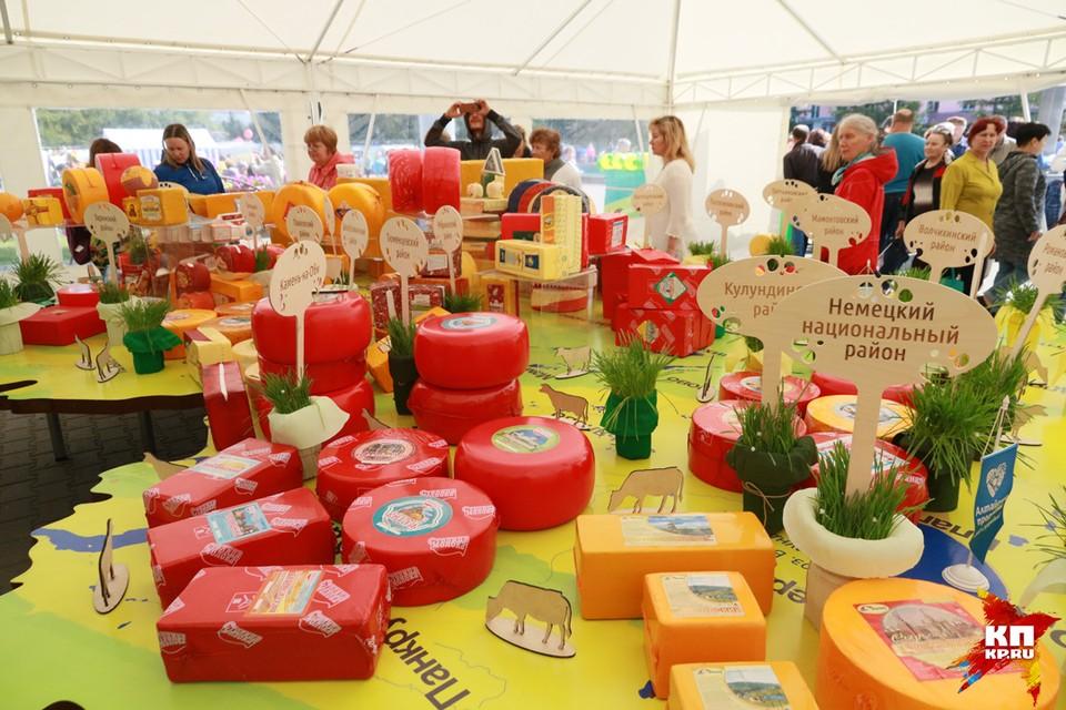 Одиннадцатый фестиваль «Дни алтайского сыра»