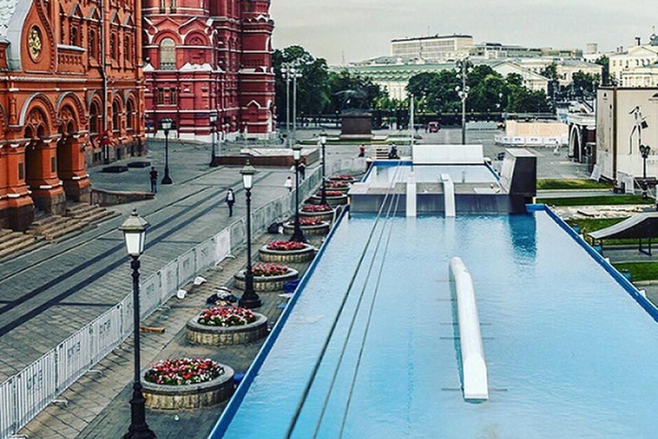 Площадка, посвященная экстремальным водным видам спорта, станет одним из главных притяжений во время празднования 870-летия Дня Москвы